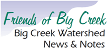 Newsletters: Big Creek Watershed News & Notes